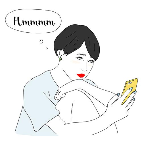 苦手なタイプの男性から食事に誘われたらどんな返事をする?isutaの心理テストで恋愛傾向をチェック♡