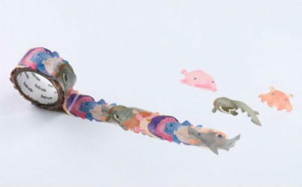 お魚好きはマストチェック!この夏欲しい新作マステ「深海魚&熱帯魚」がヴィレヴァンに登場♩