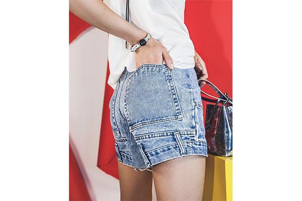 上下逆さま…?NYのビンテージデニムブランド「CIE Denim」のショートパンツがかわいい!