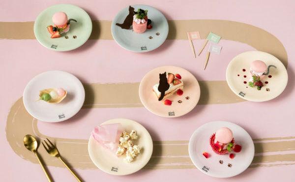 流れてくるのはお寿司じゃなくスイーツ♡女子の夢を叶える「回転スイーツカフェ」が原宿にOPEN♩