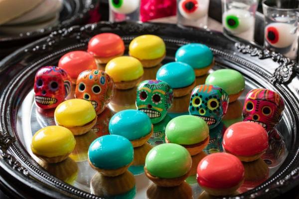 ヒルトン東京お台場のハロウィンブッフェ。今年はメキシコの祭典「死者の日」がテーマ!