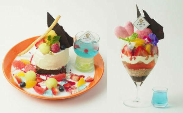 パンケーキ専門店「Butter」大阪2店舗に華やか過ぎるオトナのパンケーキ&パフェがお目見え♡