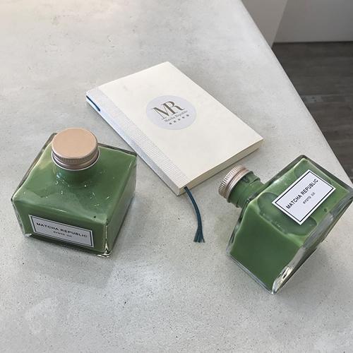 このインクボトル、実は抹茶ドリンクなんです♡京都・宇治のアンテナショップ「抹茶共和国」って知ってる?
