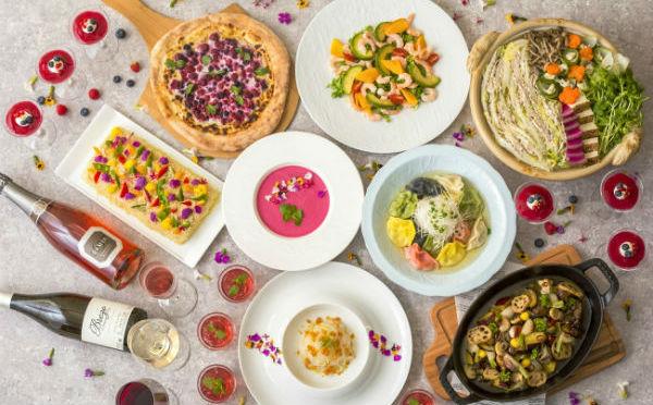 テーマは「美と健康」夏の疲れを癒すヘルシーディナーブッフェがホテルメトロポリタンエドモントにて開催♡