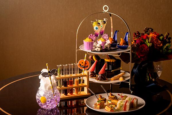 """東京マリオットホテルのアフタヌーンティーで楽しむ""""大人のハロウィン""""♡ミステリアスなカクテルも"""