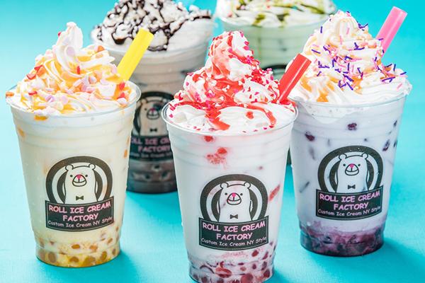 トッピングが楽しめるカラフルなタピオカドリンク♡ロールアイスクリームファクトリー全店で販売中♩