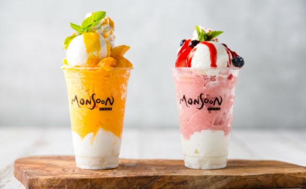 猛暑にうれしいエスニック系スイーツドリンク「ハロハロ&ボバ」がモンスーンカフェに登場!