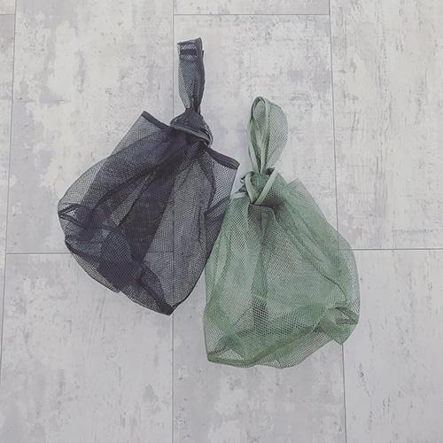 クリアの次は「メッシュバッグ」がくる!ダイソーから108円のおしゃれなメッシュバッグが登場♩
