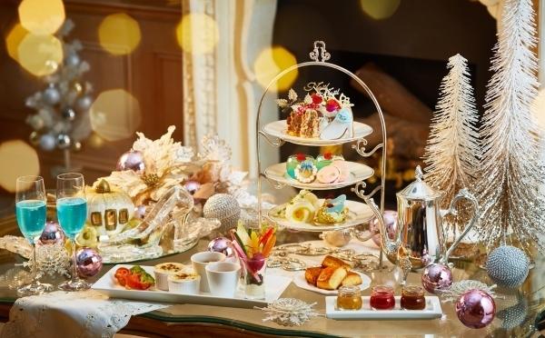 テーマは「雪とシンデレラ」プリンセス気分に浸れるクリスマスアフタヌーンティーが北青山で開催♡