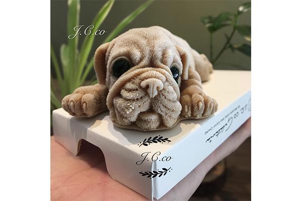 かわいすぎて食べられないかも…?!台湾で販売されている本物そっくりな子犬型アイスが話題に