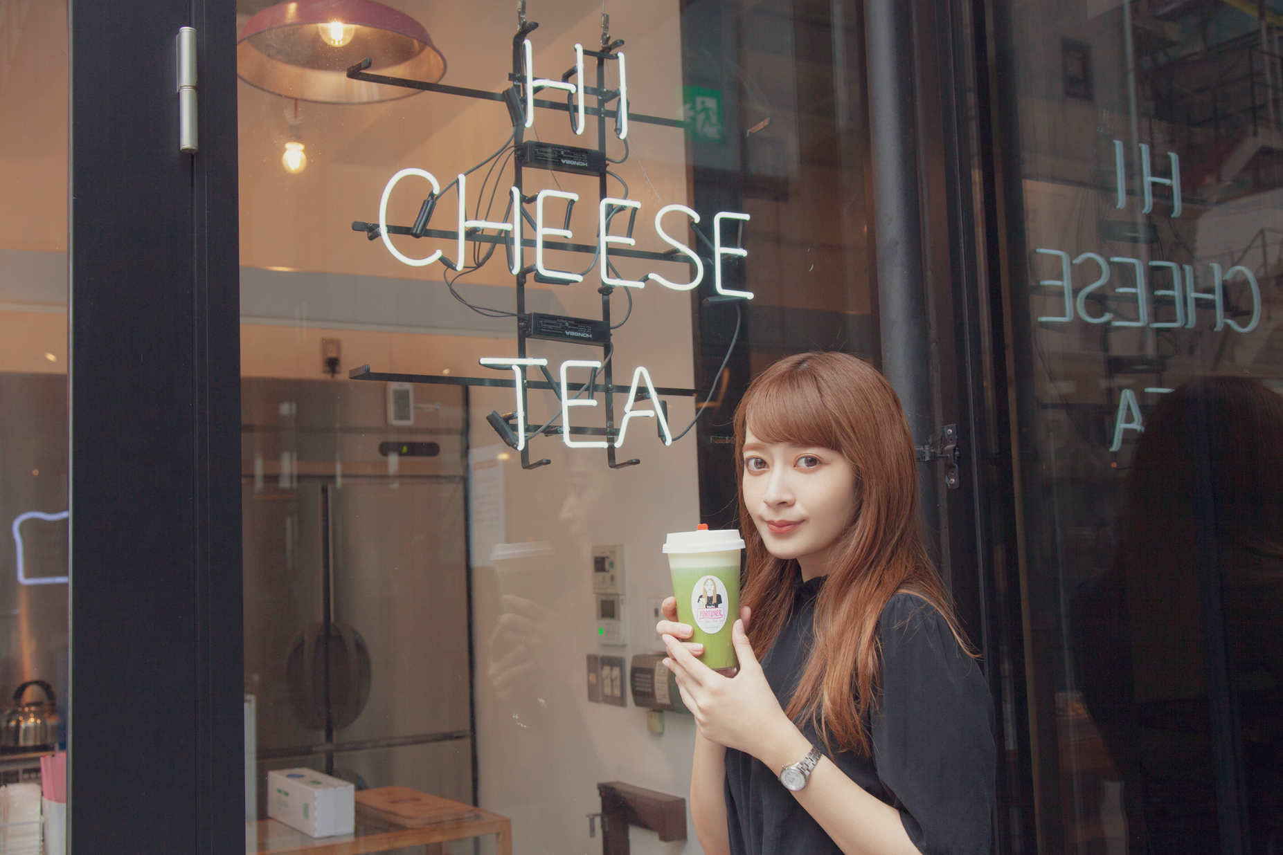 チーズ好きの女の子は必見♡今話題のチーズティーが楽しめる「FORTUNER tea-box」に外川礼子が行ってきました!