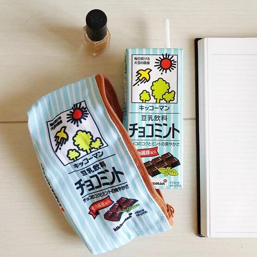 全種類集めたいほどかわいい♡キッコーマンの豆乳がポーチになって登場したって知ってる?