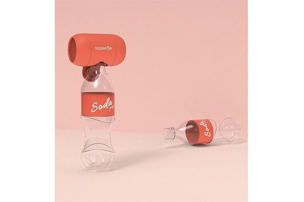 ポップな見た目もかわいすぎ♡ペットボトルに取り付けると音量が3倍になるワイヤレススピーカー