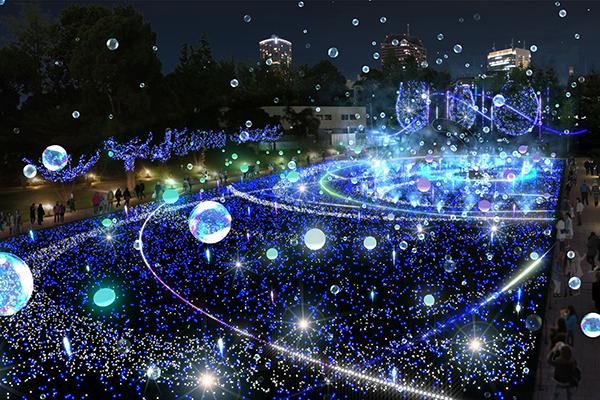 毎年大人気の東京ミッドタウンのクリスマス♡今年は「しゃぼん玉イルミネーション」も期間限定登場