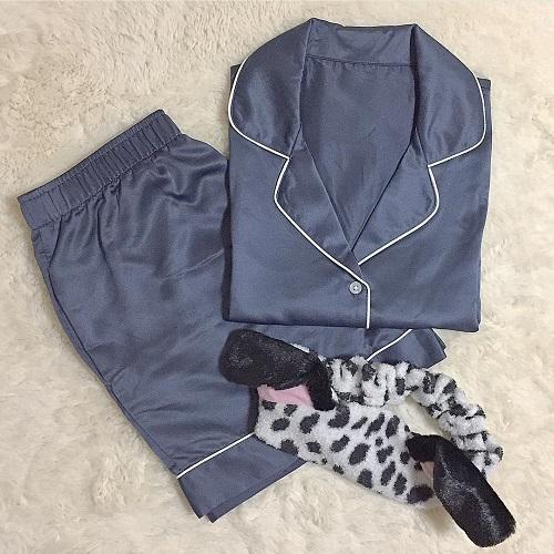 売りきれちゃう前に急いで!高見えを叶えるGUサテンパジャマが9月24日まで期間限定価格で販売!