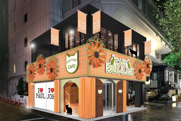 期間限定のPAUL & JOE Neko Caféが表参道に!オリジナルメニューを味わいながらコスメをお試し♡