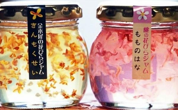 金木犀&桃の花びらが美しい♡宝石みたいなキラキラのジャムがヴィレヴァンオンラインに再登場!
