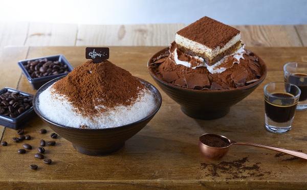 秋でも食べたいかき氷♡ソルビンの「ひやあつ」アフォガート&ティラミスが数量限定で復活!