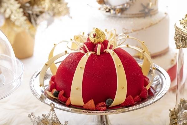 アリスに誘われ白銀の魔法の世界へ!最高にロマンティックなヒルトン東京のクリスマスビュッフェ♡