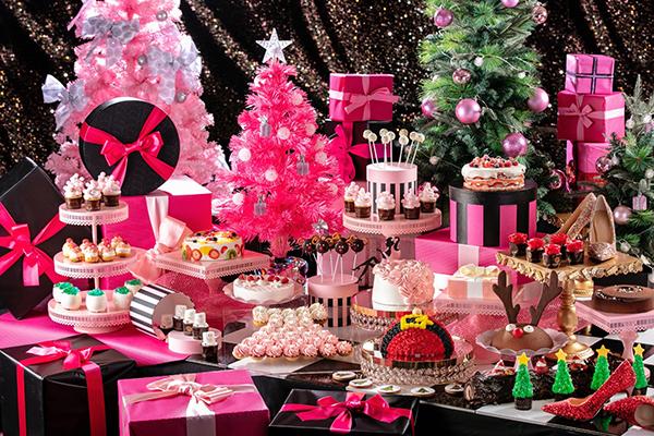 クリスマスの女子会はここに決まり!ヒルトン東京お台場のデザートビュッフェがオトナかわいい♡