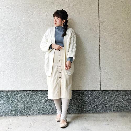 きれいめカジュアルさんにおすすめ♡GUの「コーデュロイスカート」でつくる着まわしコーデ6つ