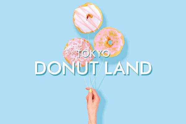 アイスクリームの次はドーナッツ♡フォトジェニックな「東京ドーナッツランド」が新宿に期間限定オープン!