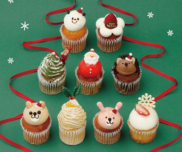 わいわい楽しいクリスマスに♡フェアリーケーキフェアのキュートなカップケーキはいかが?