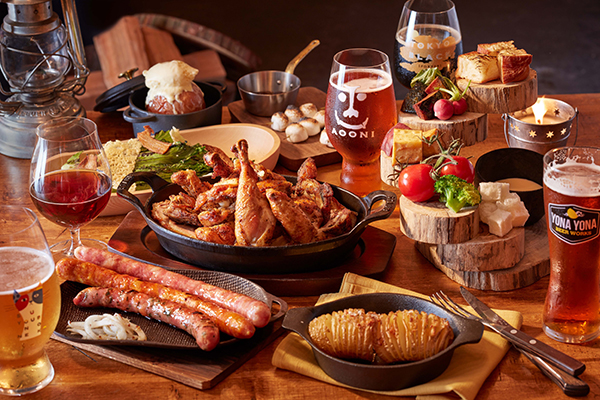 新虎通りCOREにYONA YONA BEER WORKSの新店がオープン!アウトドア料理と共にこだわりのビールで乾杯