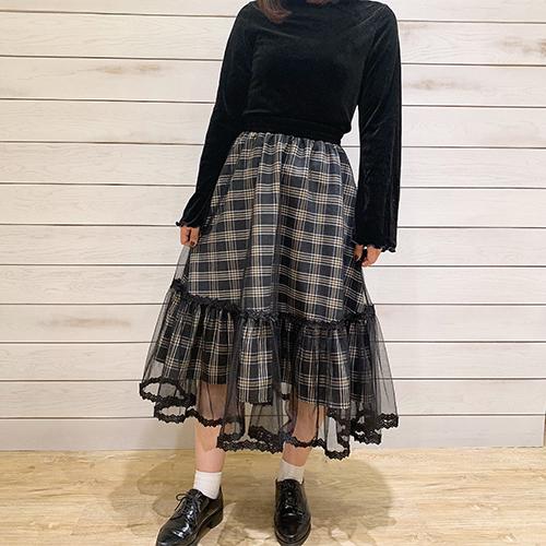 """【身長別】""""大人っぽ""""と""""ガーリー""""の両方ほしいっ!DHOLICの個性派スカートがかわいいハナシ♡"""