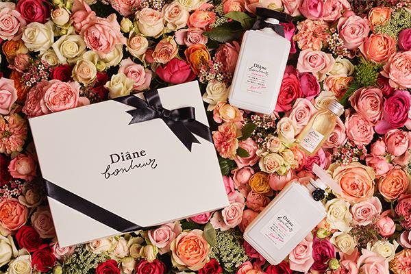 """WEBのみ""""100個限定""""で販売!ヘアケアブランド「ダイアンボヌール」のフランスの希少なバラ香る贅沢なセット♡"""