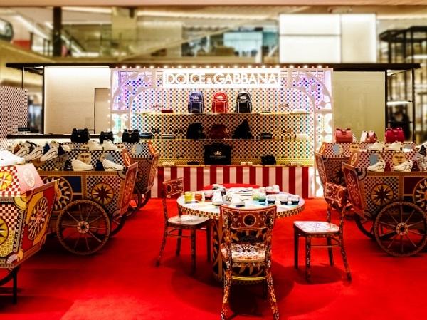 GINZA SIXにドルチェ&ガッバーナのポップストアがOPEN!世界でひとつだけのオリジナルバッグを作ろう♡