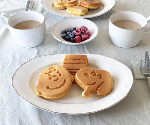 韓国好きな女の子の間で人気♡スヌーピーのワッフルメーカーで作る「#お家カフェ 」アレンジ集