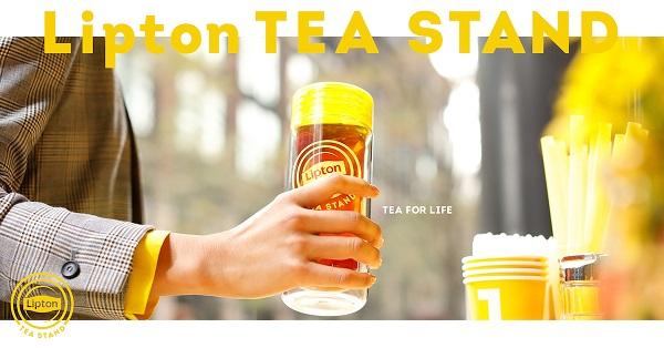 リプトンの人気ポップアップが常設店「Lipton Tea Stand」となって全国に♪タピオカ好きも要チェック♡