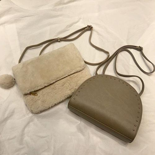 プチプラのあやさんプロデュースのハーフムーンバッグも♡ #しまパト で見つけたおすすめアイテムをご紹介!