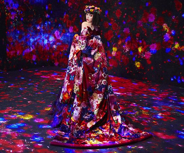 蜷川実花がチームラボ ボーダレスを表現した特別展がラフォーレ原宿で開催!玉城ティナを撮影した作品も登場♡