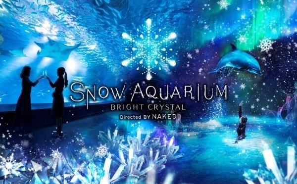 週末&休前日は23時まで楽しめちゃう♪アクアパーク品川×ネイキッドの冬期イベントが幻想的♡