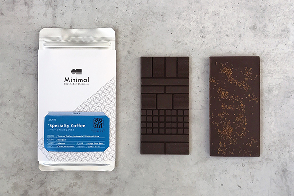 """バレンタインの贈り物にも♡Minimal×丸山珈琲のコラボ商品""""食べるコーヒー""""がコンセプトのチョコレートが登場"""