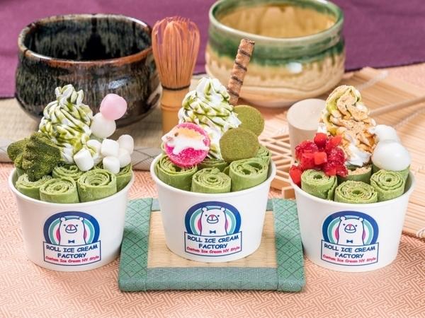 京都限定メニューも全店に期間限定で登場!ロールアイスクリームファクトリー「Matcha FESTA」がスタート♩