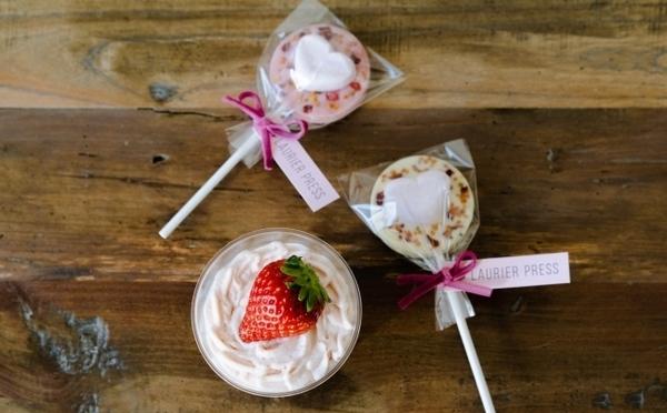 ハート型マシュマロが浮かぶチョコラテも♡BOTANISTカフェのバレンタイン限定メニューがかわいい♩