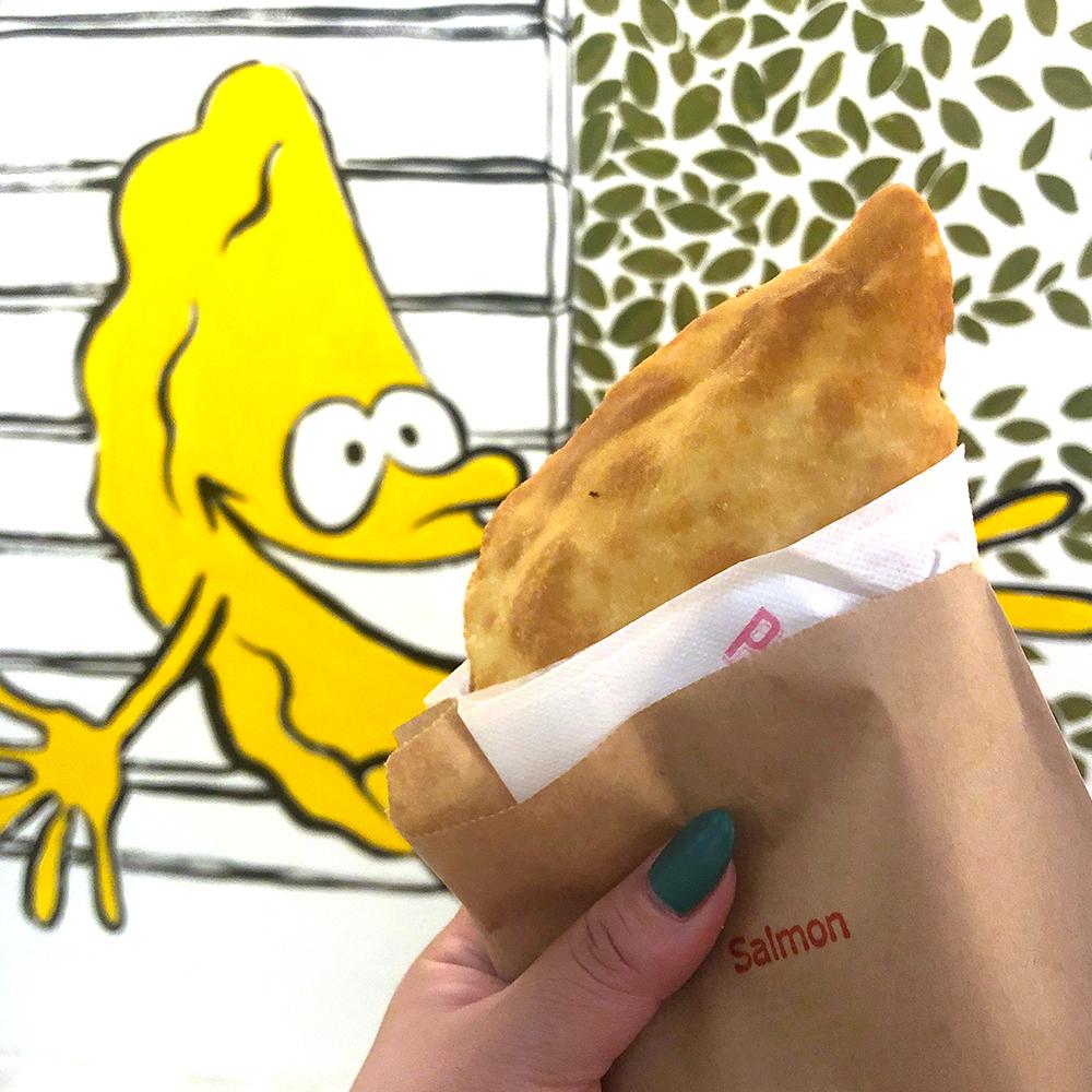 """代官山散歩のお供にどうぞ♡片手で食べられる""""包み揚げピザ""""のお店「イル パンツェロット」がOPENしました!"""