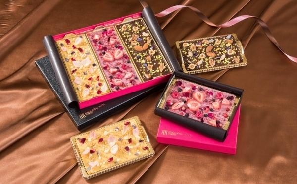 お花を散りばめたタブレットショコラにうっとり♡リーガロイヤルホテル東京にバレンタインアイテムがお目見え♩