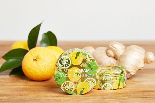 ゆずの香りに癒されるお手入れ時間♩「スチームクリーム ゆず&ジンジャー」が定番アイテムとして発売