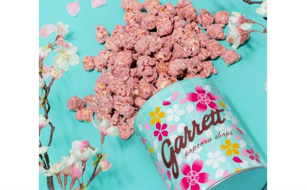 気分はもう春♩イチゴづくしの最新フレーバー&春限定SAKURA缶がギャレット ポップコーンにお目見え♡