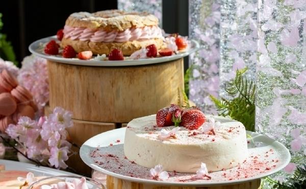 ブッフェ形式で楽しめちゃう♡グランドハイアット東京「桜&いちごのアフタヌーンティー」がスタート♩