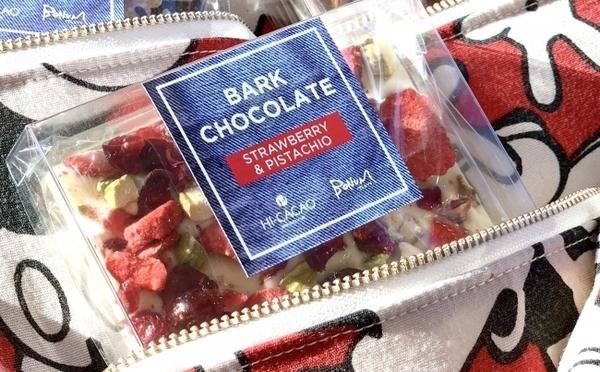 HI-CACAO×BONUMがコラボ!友チョコ&プレゼントにぴったりのポーチ付きチョコが数量限定で登場♩