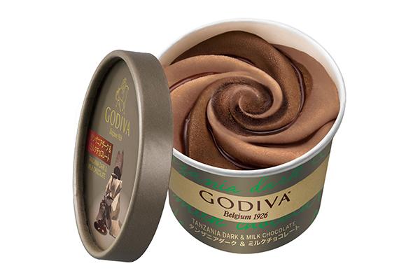 ゴディバのコンビニ限定カップアイスに新フレーバーが!ファミマとローソンでそれぞれ異なる味を制覇したい♡