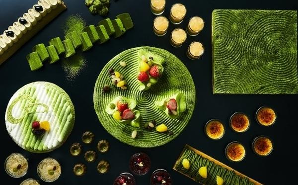 香り豊かなお茶づくし♡リーガロイヤルホテル大阪「お茶スイーツビュッフェ」が曜日限定で5月スタート♩