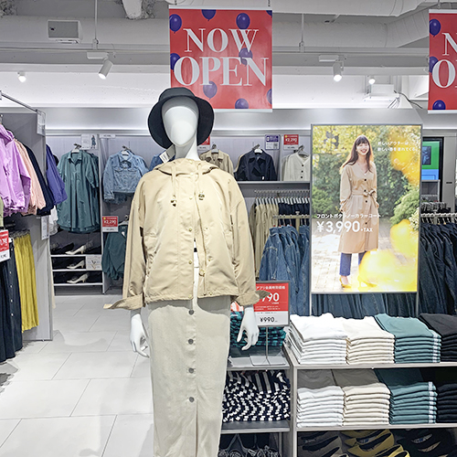 """待ってました、GU渋谷店が本日オープン!トレンド発信地で""""デジタルとリアルが融合""""した新しい買い物体験を♡"""