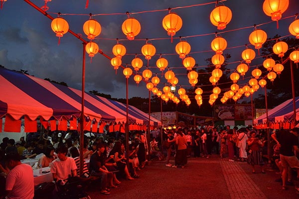 ランタンが灯る夜の演出も異国情緒たっぷりで素敵♡「台湾フェスタ2019」は代々木公園で7月開催