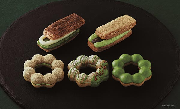 ミスド×祇園辻利のちょっぴりリッチな抹茶のドーナツが食べたい♡「抹茶スイーツプレミアム」第1弾は4月発売